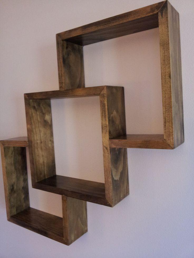 Modern Wall Decor-shadow box. $30.00, via Etsy.