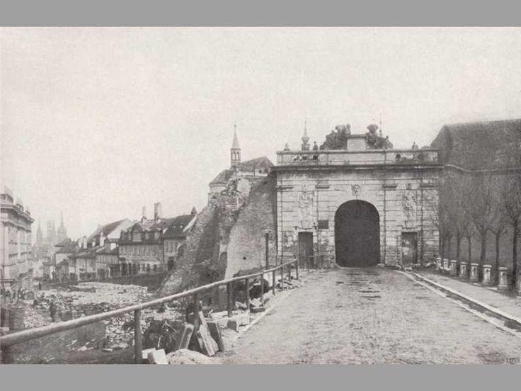 Říšská brána 1898