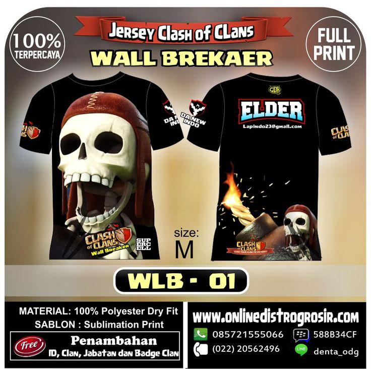 WALL BREAKER 01 | Kaos dan Jersey Distro Bandung
