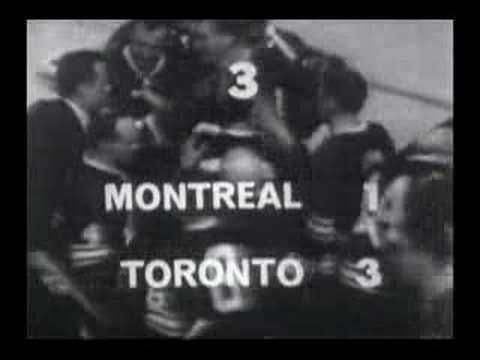 Toronto Maple Leafs 1967 Stanley Cup Champs