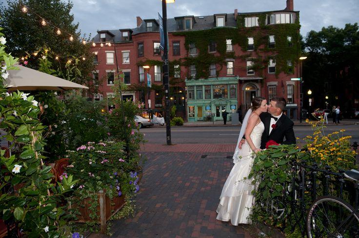 Bride and Groom Portrait, Beehive Boston