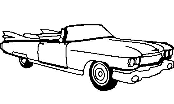 printable coloring pages of cadillac - photo#37