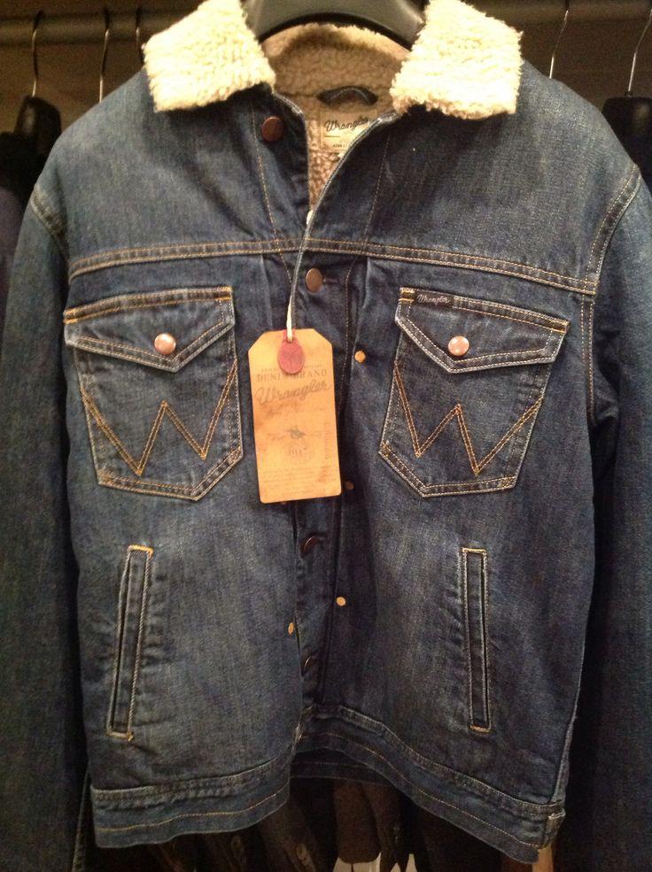 Giacca jeans Wrangler , ritorno agli anni '80