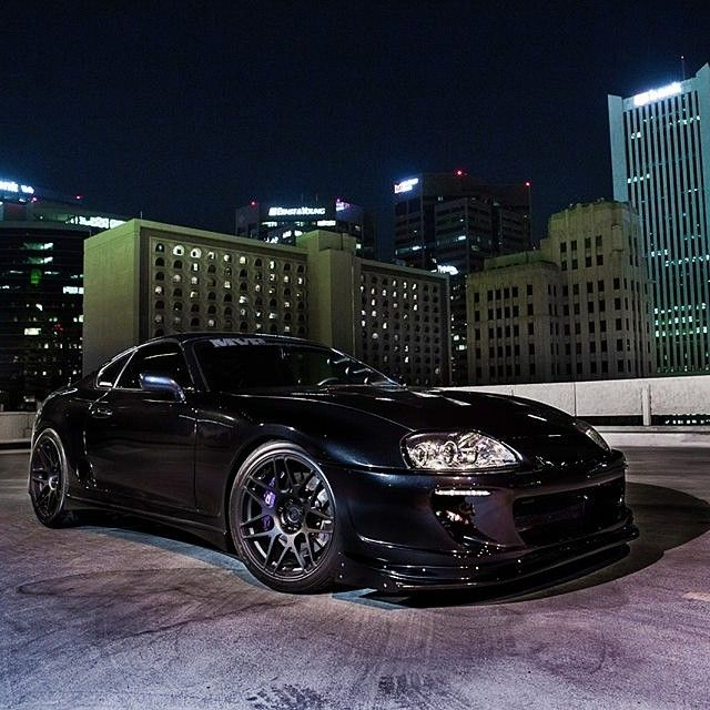 Black On Black Toyota Supra Toyota Out There Pinterest