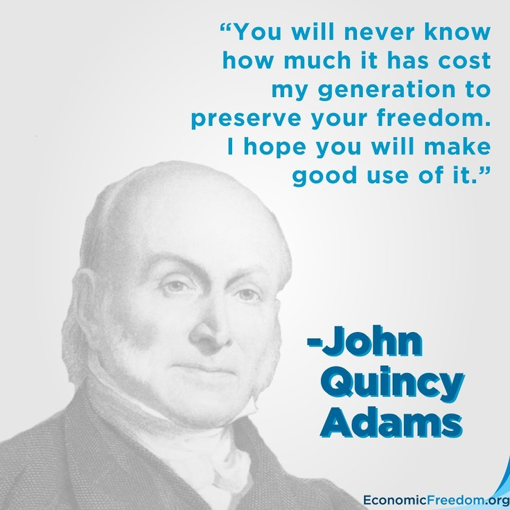 An introduction to the history of john quincy adams
