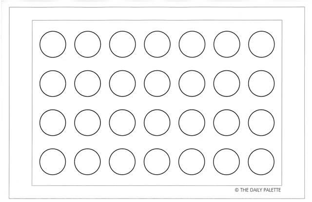 printable french macaron template - annapet macaron template 11x17 2 cookies cakes