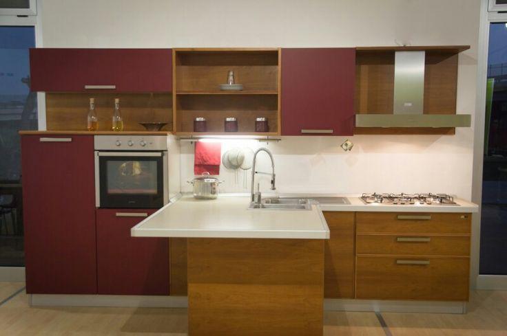 Glamour, anta a vassoio in legno multistrati di ciliegio con massellatura perimetrale http://www.furleo.it/cucine/glamour/