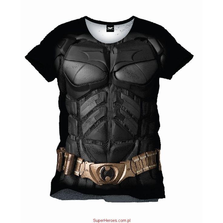 Koszulka Batman zbroja Mroczny Rycerz