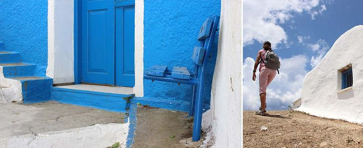 The guide for Naxos Island, Greece