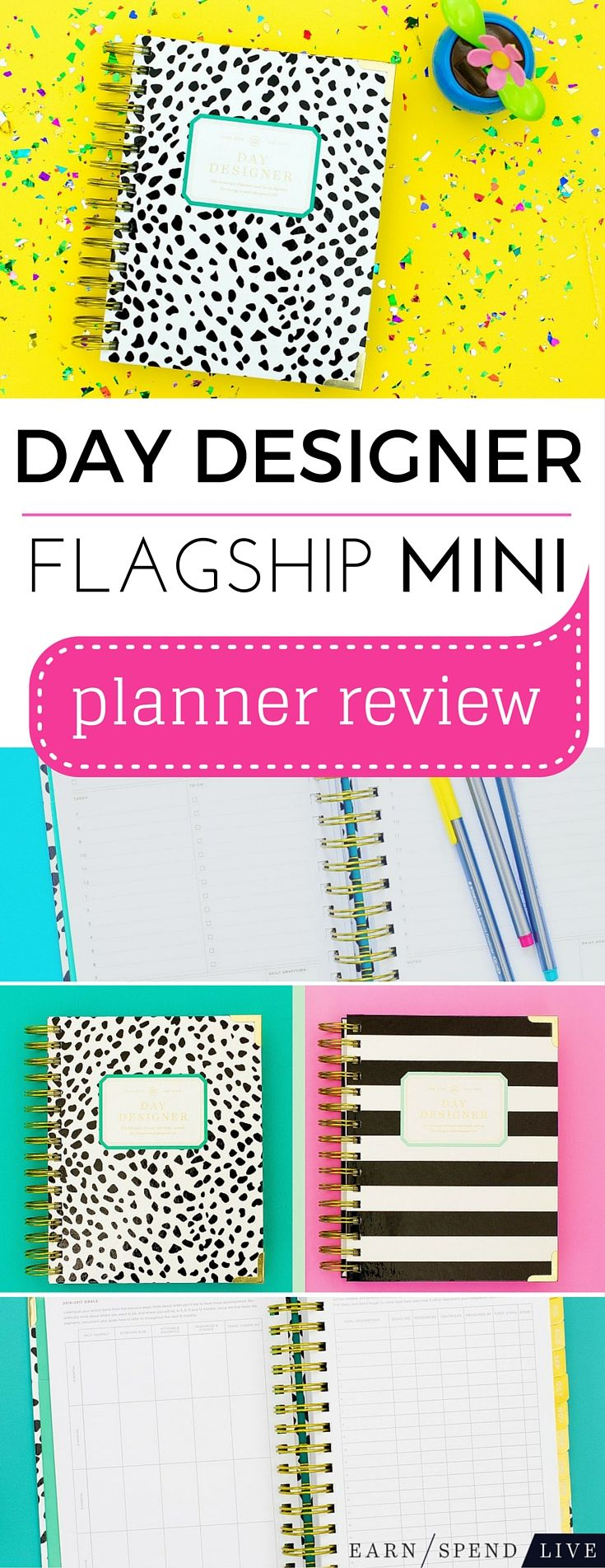 Day Designer launched its first mini Flagship planner in 2016 and let me tell ya — it is major. It's the same quality tool you expect a Day Designer planner but the few less inches doesn't detract from its space, wisdom, or beauty. Here's a rundown of exactly what you get with a Flagship Day Designer Mini >