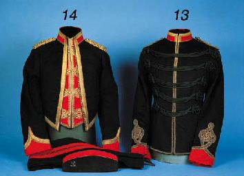 An Officer's Mess Kit and other items of the 20th Lancers, Indian Cavalry  (wrong era and regiment, but gorgeous)