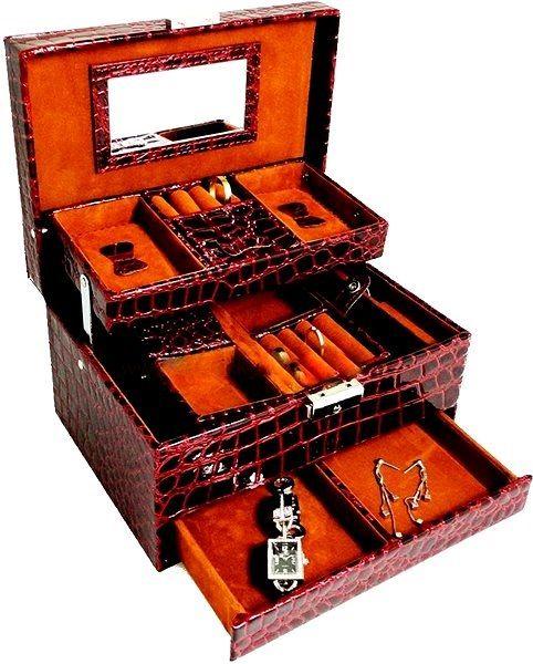 Máte šperkovnici na vaše krásné šperky? Vyberte si ze široké nabídky!
