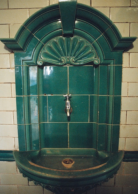 Victoria Baths, Manchester - turkish baths by urban film, via Flickr