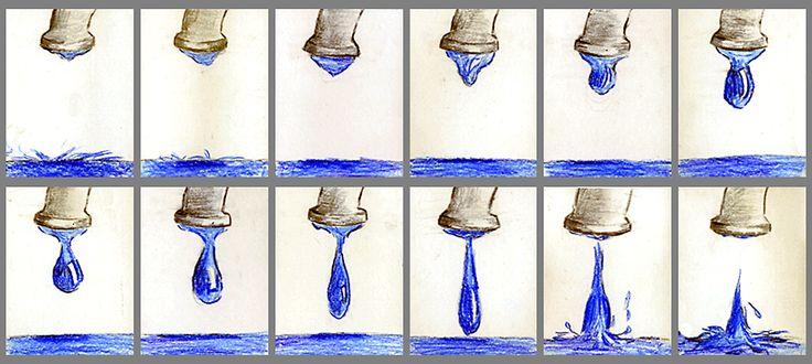 »Der Wasserhahn tropft« –   Phasenbilder/Animation für das Praxinoskop, Wahlpflicht-Kurs, 10. Klasse  http://khnemo.wordpress.com/2008/03/17/der-wasserhahn-tropft-%E2%80%A6/
