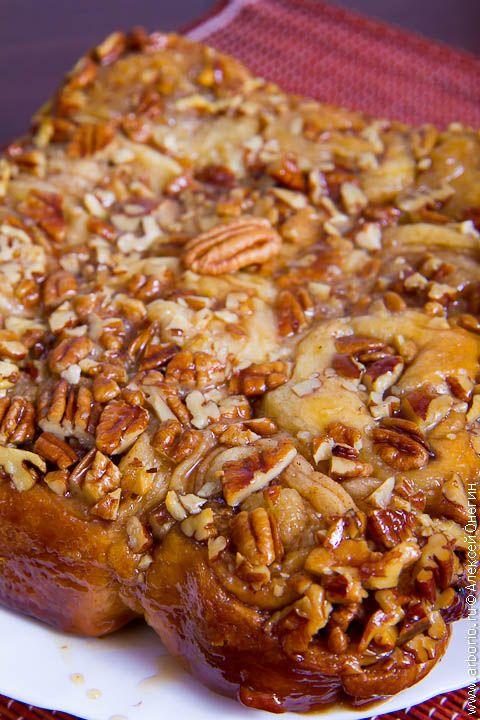 Медовые булочки с корицей и орехами | Кулинарные заметки Алексея Онегина