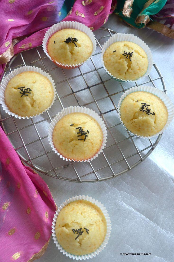 Milk Muffins | Eggless Milk Muffins