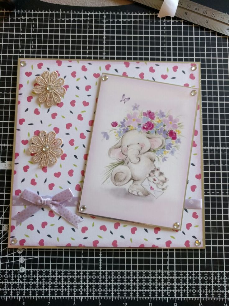 Hunkydory Crafts little book of love topper.