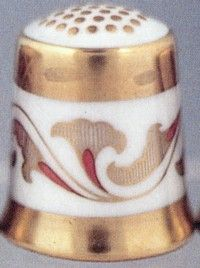 Royal Crown Derby Thimbles -The Art Deco 1900