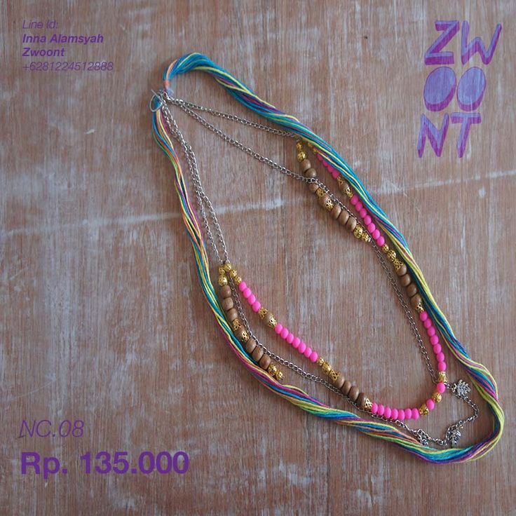 hello monday necklace IG zwoont Twitter @Zwoont and facebook.com/Zwoont Indonesian Local Brand