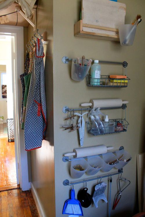 Organisation in a potter's studio