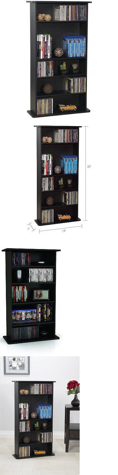 CD and Video Racks 22653: Multimedia Storage Rack Media Cabinet Blu-Ray Cd Dvd Games Tower Shelf Organizer -> BUY IT NOW ONLY: $36.34 on eBay!