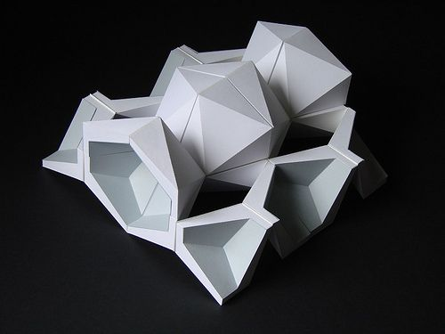 Best 25 origami architecture ideas on pinterest paper for Architecture origami