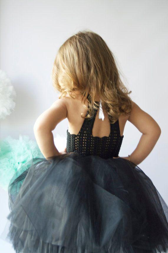 Double Layered Puffy Tutu Dress. Flower Girl Tulle от AylinkaShop