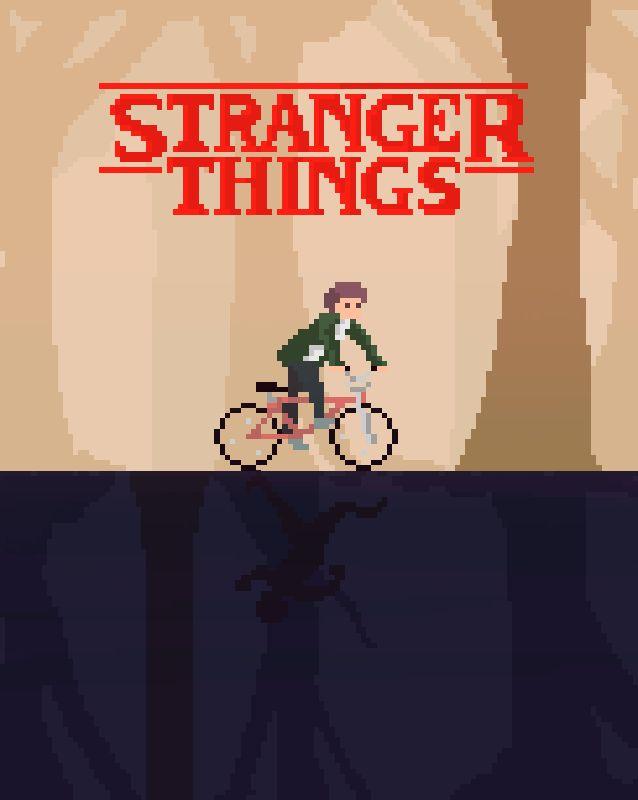 Stranger Things pixel art