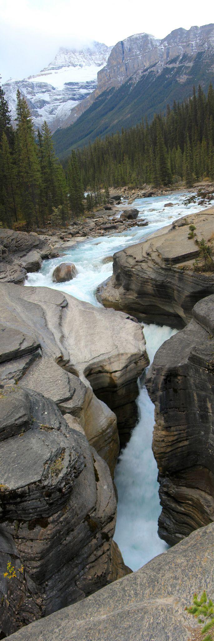 Mistaya Canyon, Banff National Park, Alberta Canada by Alyson Hurt Flickr