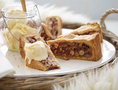 Begin je weekend goed met deze lekkere dichte notentaart.