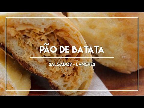 Receita de Pão de Batata - Youtube