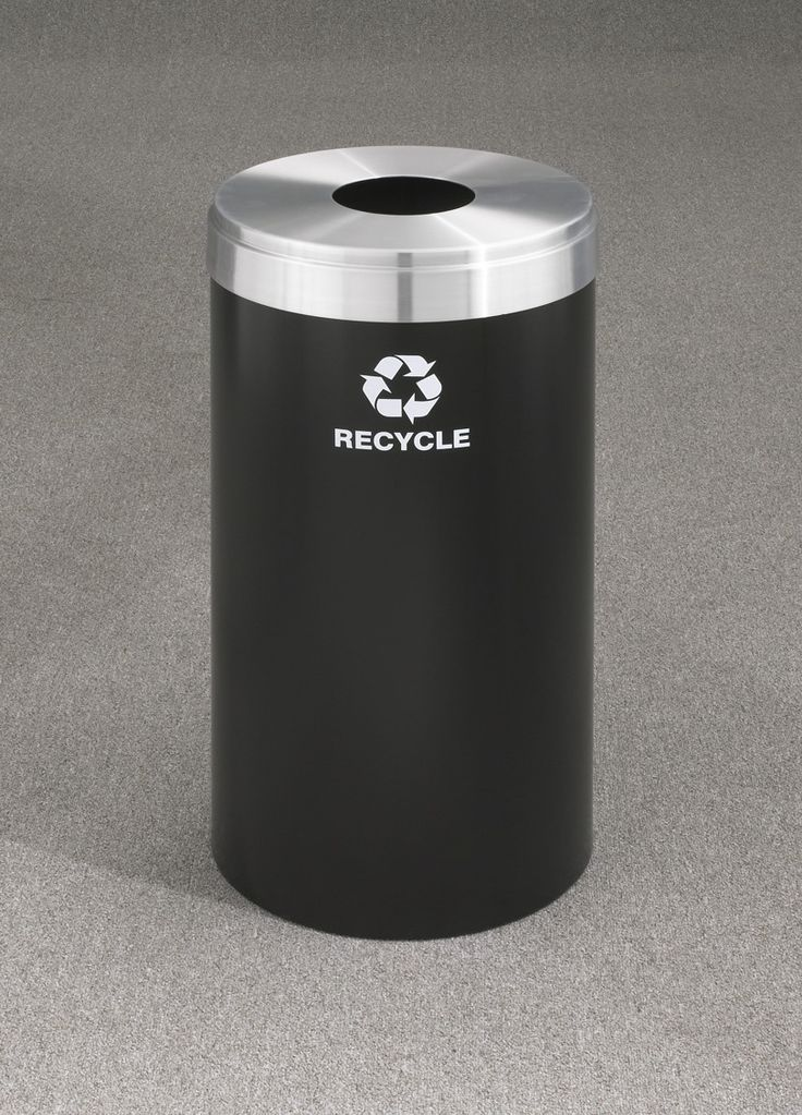 RecyclePro Value Series 23-Gal Single Stream Industrial Recycling Bin