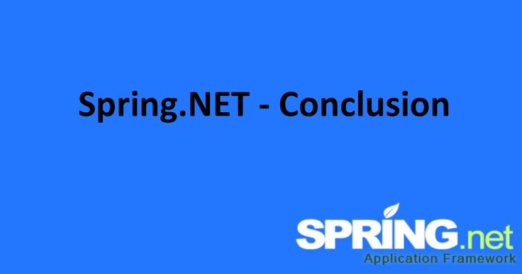 At last using Spring.Net Software development companies  can create decouple application which is useful for enterprise level. Spring.N...  #ASPNETCompanyIndia #CSharpCompany India #WebDevelopmentCompanyIndia #ApplicationDevelopmentCompanyIndia
