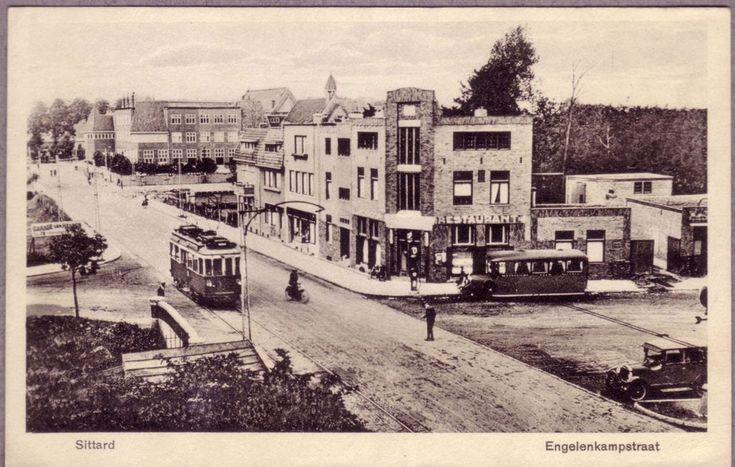Engelenkampstraat Sittard (jaartal: 1930 tot 1940) - Foto's SERC