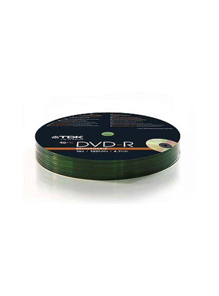 TDK DVD-R Shrinkwrapped 10pk