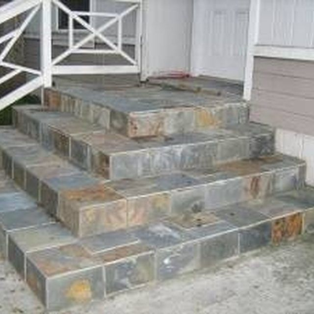 8 Best Images About Front Porch On Pinterest Home Entrances Concrete Steps And Pathways