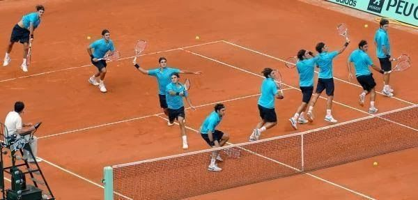 Roger Federer Tenis Kortunda