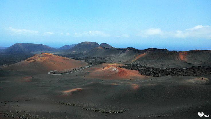 Lanzarote, Canarian Islands, Timanfaya  http://onawielepiej.blogspot.com