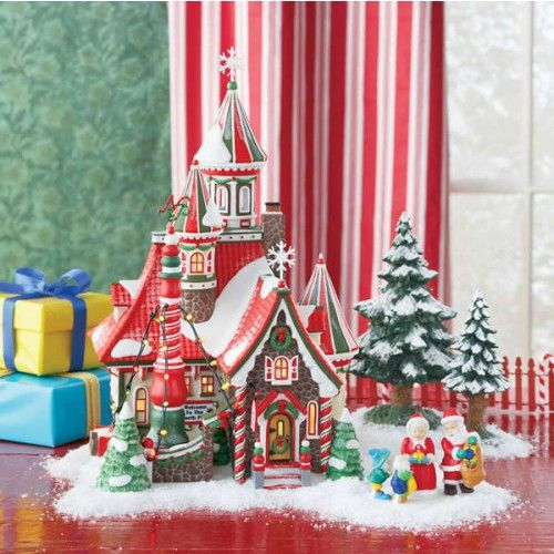 139 best Dept 56 North Pole Village Pieces I Want images on ...