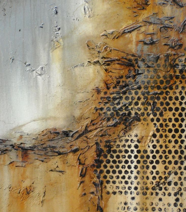 Hand Embellished, Textural, Abstract Painting. Giclee on Canvas. by ELOISE WORLD…