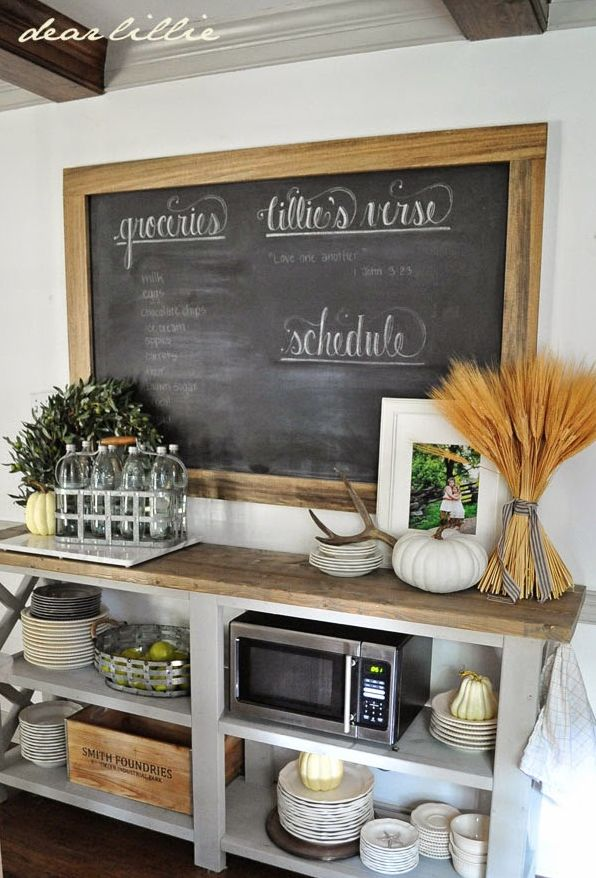 Side board - decorative yet functional