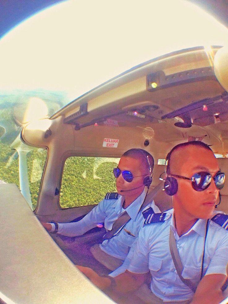 Mutual flight with hadi fuadin