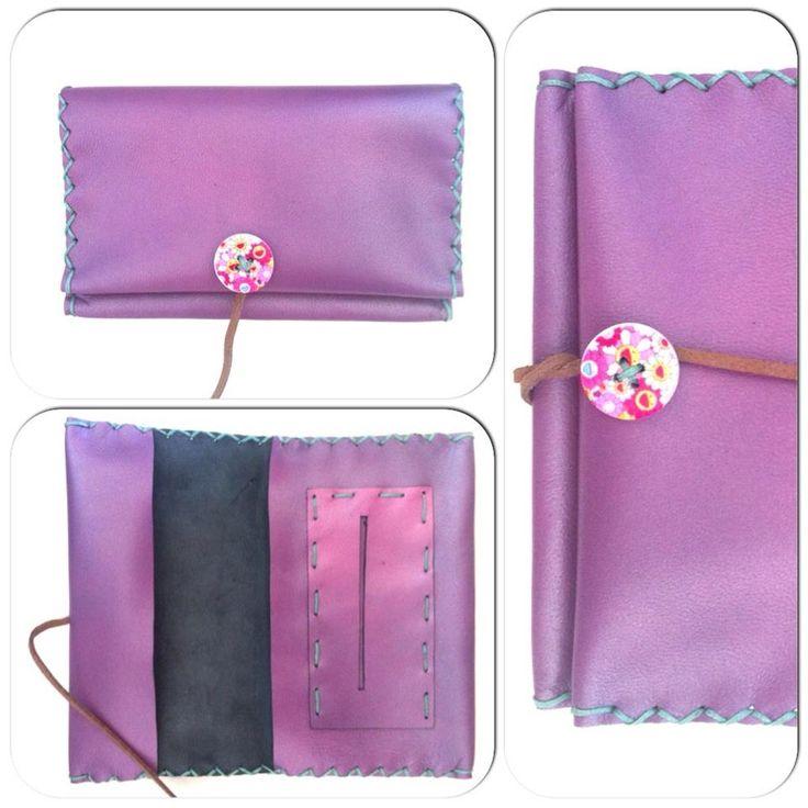 Δερμάτινη Θήκη Καπνού Handmade leather tobacco case. 100% genuine leather www.facebook.com/ecasies