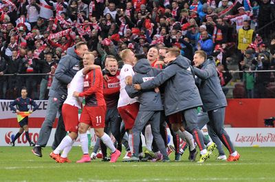 Team Poland at the UEFA Euro 2016 Qualifying (Poland vs Ireland) Copyright B&O Press Photo.