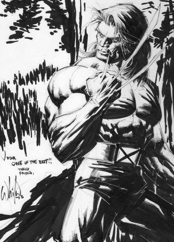 Wolverine by Whilce Portacio Comic Art