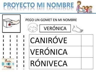 """ISSUU - Proyecto """"Mi nombre"""" by Carol Aliena"""