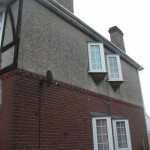 A guide to Painting pebbledash, render and Tyrolean masonry walls. The famous guide, by NEVER PAINT AGAIN UK