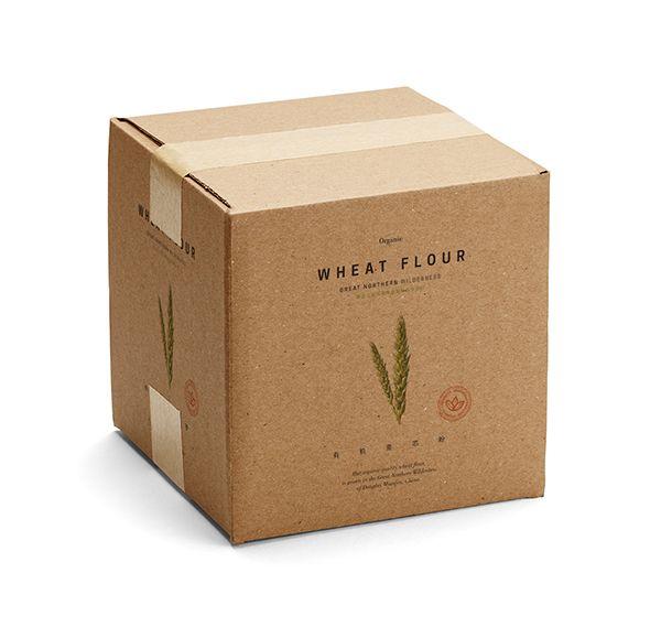 Great Northern Wilderness: Organic Flour — The Dieline - Package Design Resource
