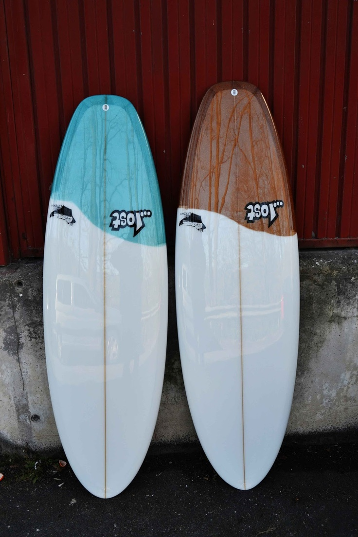 Cool resin work from Lucky Bastards and Lost Surfboards