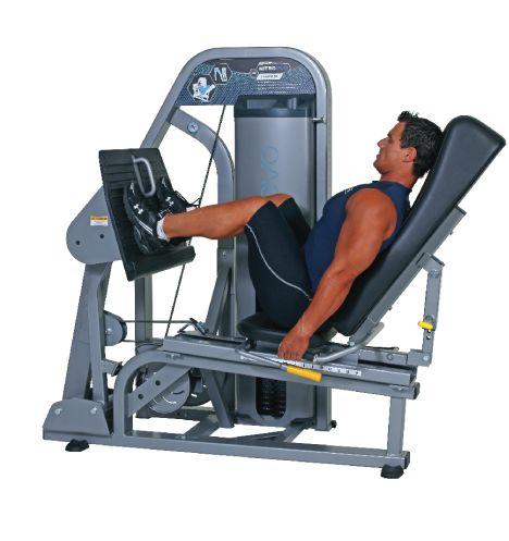 nautilus leg press machine
